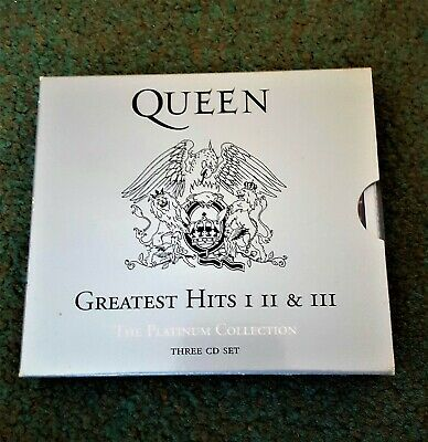 CD Queen - Greatest hits 1-2 & 3 The Platinum Collection