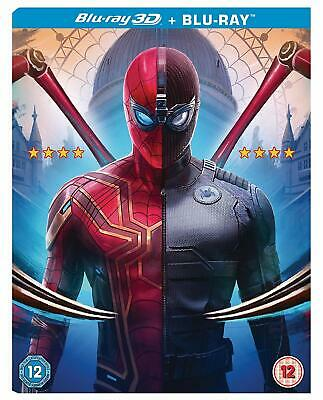 Spider-Man Far From Home 3D Blu-Ray New Region Free With Slip Cover.