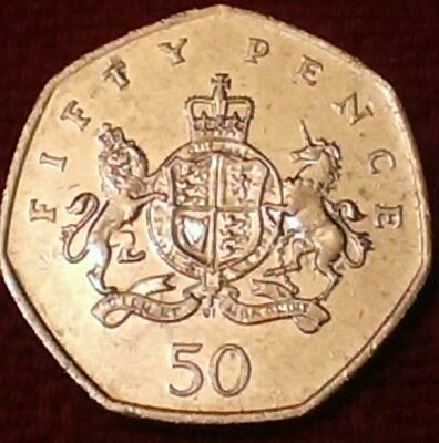 2013 fifty pence 50p coin - 100th Anniversary of the birth CHRISTOPHER IRONSIDE