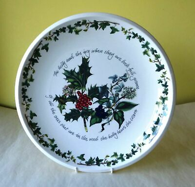 Portmeirion The Holly and The Ivy large serving plate for your table centrepiece
