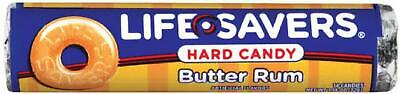 Life Savers Candy Butter Rum, 1.14-Ounce Rolls (Pack Of 60)