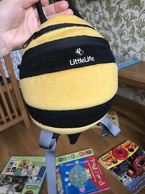 Little Life 🐝 Bumble Bee 🐝 Baby Backpack / Rucksack Detachable Safety Reins