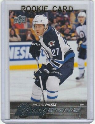 2015-16 Upper Deck #223 Nikolaj Ehlers Young Gun Rc