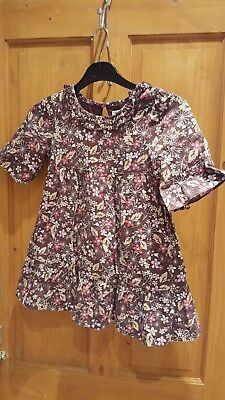 M&S Autograph girl blouse top. Marks & Spencer. 7 Years. FREE P&P!!