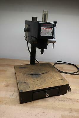 Dumore 37-021 High Speed Drill Press w/ Extras
