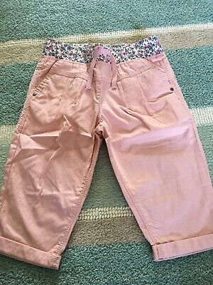 Next Girls Cropped Trousers Age 5