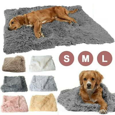 Extra Large Soft Blanket Cosy Warm Pet Dog Cat Animal Blanket Throw Mat S-L