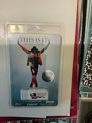 Michael Jackson's This Is It Limited Edition USB Drive