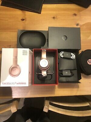 Beats By Dr. Dre Solo3 Wireless On -Ear Headphones  -rose Gold