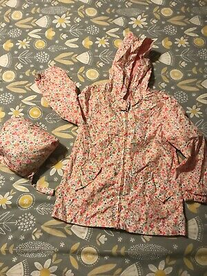 Twin Sale Waterproof Rain Coats Pac Macs 5-6 nutmeg Twin Girls