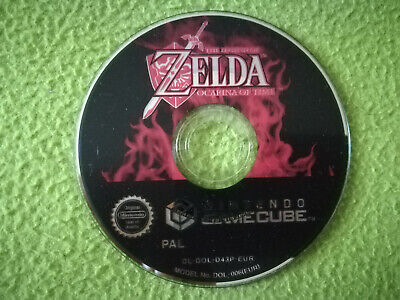 THE LEGEND OF ZELDA OCARINA OF TIME  jeu Nintendo Game Cube - PAL