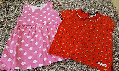 Girls Age 3-4 Years Floral Dress and Next Top