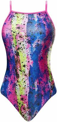 The Finals Girls 'Funnies'  Nebula Foil  Swimming Costume