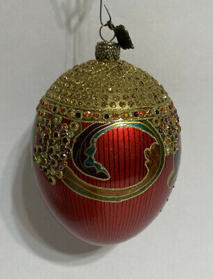 2002 Jay Strongwater Collectible Christmas Ornament new in the box Collectible Jay Strongwater Jay Strongwater 2002 Red Ornament