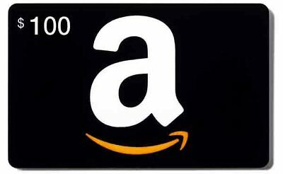 $100 Amazon Gift Card - Same Day & Very Fast Shipping! Trusted Ebayer