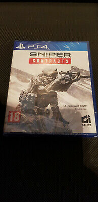 Sniper Ghost Warrior Contracts for PS4 (NEW/SEALED)