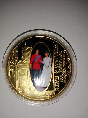 William and Kate Royal Wedding Commerative Coin