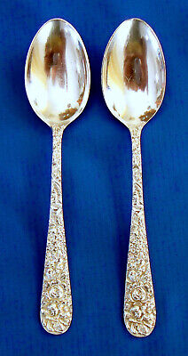 """Stieff Sterling STIEFF ROSE ICED TEA SPOON 7 1//2/""""  NM 8 New In Package"""