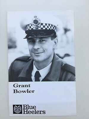 Tv Fan Card Blue Healers Grant Bowler. Free Postage