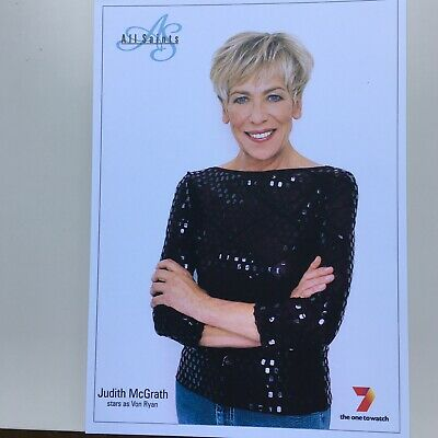 Tv Fan Cards Pair Of Judith Mcgrath All Saints Free Postage