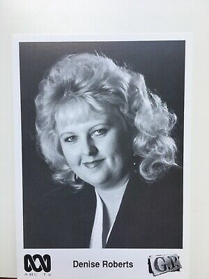 Tv Fan Card Gp Denise Roberts Free Postage