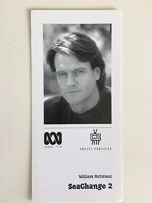 Tv Fan Card Sea Change 2 William Mcinnes Free Postage