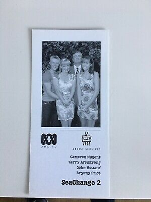 Tv Fan Card Sea Change Cast Shot Free Postage