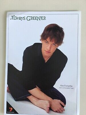Tv Fan Card Always Greener. Abe Forsythe Free Postage