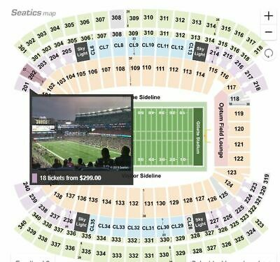 Miami Dolphins vs New England Patriots 2 Tickets with Parking Pass  12/29/19 MA
