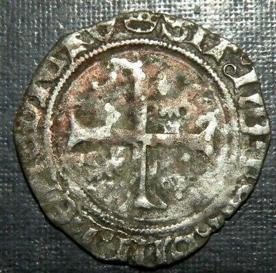 Medieval Coin Crusader Templar Cross Silver Ancient Antique 1300's  Dolphin Lot