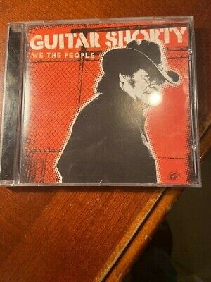 "Guitar Shorty "" We The People ""  Alligator Records 2008 Used Cd"