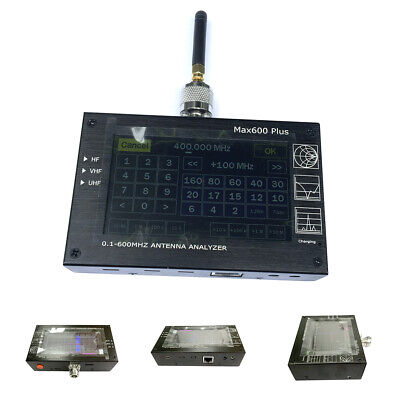 0.1 To 600MHZ TF Card HF VHF UHF Frequency Vector Network Analyzer Touch Screen