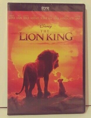 The Lion King (DVD, 2019 Brand New Next Day Shipping