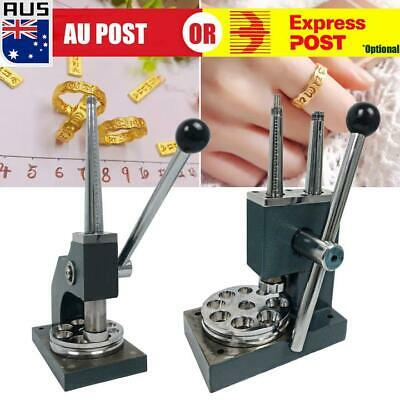 Double Ring Stretcher Enlarger Reducer Adjust Jewelers Sizing Mandrel Tools AU A