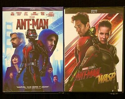 Ant-Man & Ant-Man and the Wasp (Marvel Studios) DVDs - Brand New & Free Shipping