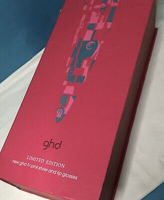 GHD Straighteners, Pink, IV Limited Edition, & Lip Glosses