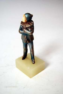 Antike Wiener Bronze Kleiner Harlekin Kaltbemalt Lovely Harlequin Child 1910