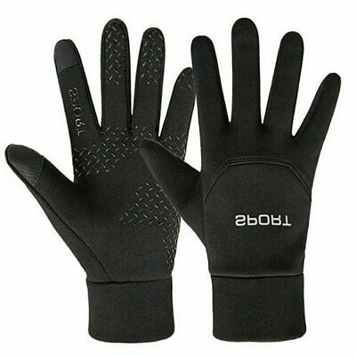 Touch screen Football Gloves Boys Kids Waterproof Outfield Field Player Sports