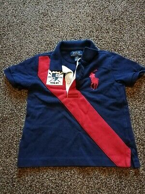 POLO Ralph Lauren Polo Shirt T-shirt Size 2/2T Boys Girls Lovely