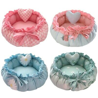 Princess Style Sweety Pet Dog Bed Cat Bed House CojíN Kennel Pens SofáS B2A2