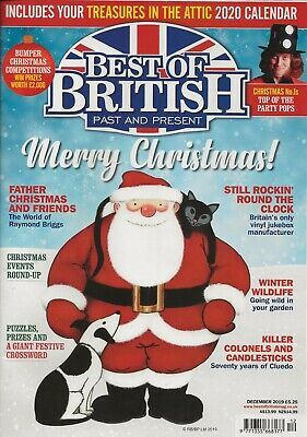 Best Of British Past & Present Magazine  December 2019
