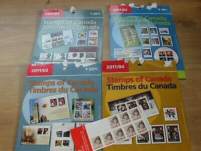 Canada - Mnh Year Set From Post Office 2011 Face Value $83.64 = £48