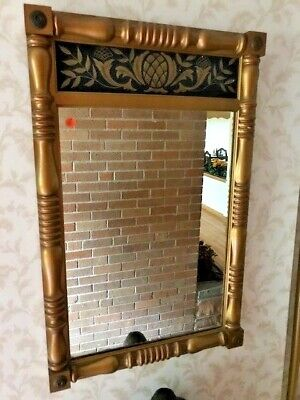 Vintage 'Meeting House Maple' Mirror' WINCHENDON FURNITURE CO. #6689
