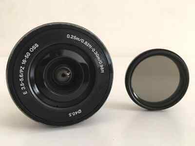 Sony SEL 16-50mm f/3.5-5.6 PZ OSS Lens + ND Variable Filter