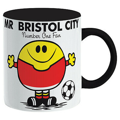 Bristol City Mug. Gift for Man Football Soccer Present Xmas Idea Men