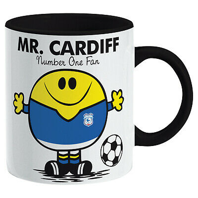 Cardiff City Mug. Gift for Man Football Soccer Present Xmas Idea Men