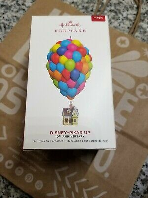 2019 HALLMARK KEEPSAKE ORNAMENT DISNEY PIXAR UP 10TH ANNIVERSARY NIB Sold  Out!!