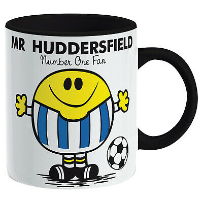 Huddersfield Town Mug. Gift for Man Football Soccer Present Xmas Idea Men