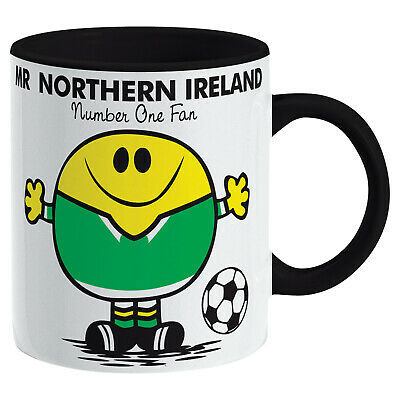 Northern Ireland Mug. Gift for Man Football Soccer Present Xmas Idea Men
