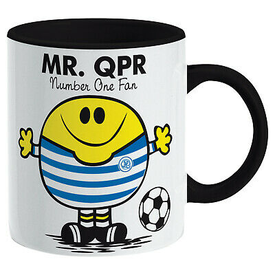 QPR Queens Park Rangers Mug. Gift for Man Football Soccer Present Xmas Idea Men